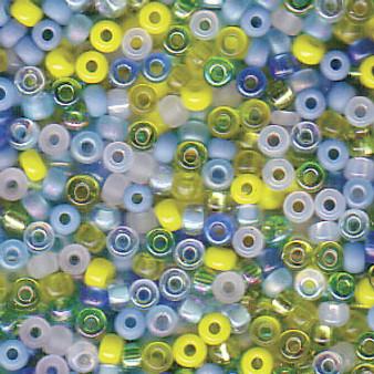 Miyuki Seed Beads - Round - SIZE #11 - 20gms - Colour Mix 06 Lagoon