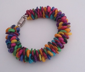 Kumihimo Bracelet Kit  - Disc and bobbins not included