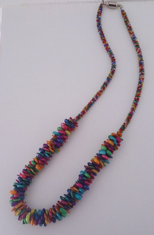 Kumihimo Necklace Kit  - Disc and bobbins not included