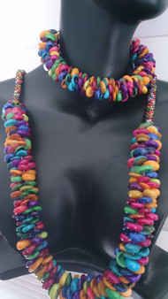 Kumihimo Necklace & Bracelet Kit  - Disc and bobbins not included