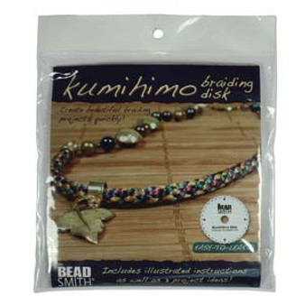 """6"""" Kumihimo Disc Round with instructions"""