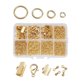 1 Box of matching Jewelry Findings Gold