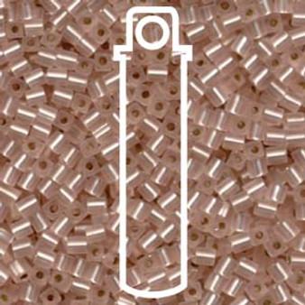 Matte Silver Lined Light Blush Miyuki 3mm Cubes Apprx 20gm (420 beads) - SB3-23F