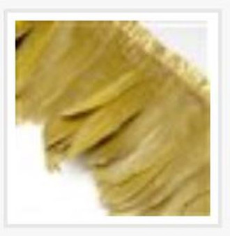 Fashion Goose Feather, Costume Accessory, Goldenrod, 100-180mm x 38-62mm; about 2m/bag