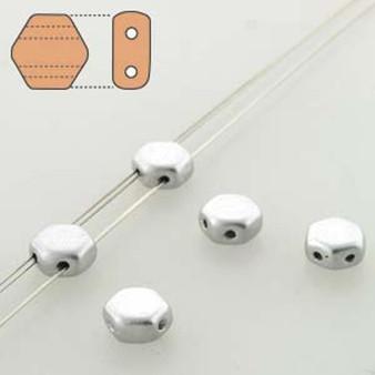 1 x Strand Honeycomb Czech Glass Beads 6mm (30 beads Per strand) Crystal Bronze Aluminum