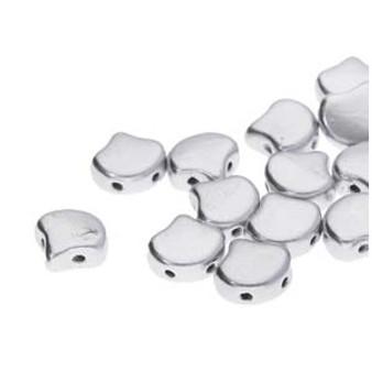GNK8700030-01700 - 7.5mm - Matubo Czech - Bronze Aluminium - 10gm bag (approx 38 beads) - Glass Ginko Bead