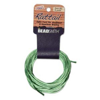 Rattail 1mm Thick - 6 Yards - Apple Green