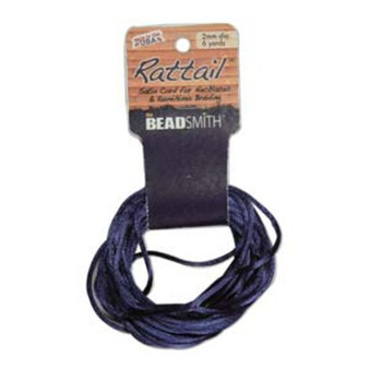 Rattail 1mm Thick - 6 Yards - Navy