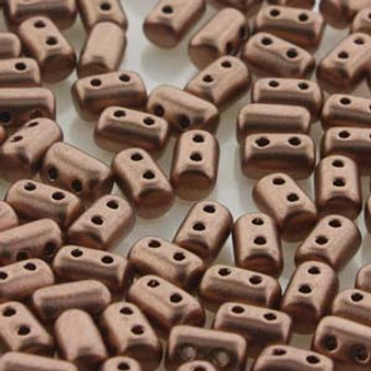 RUL3500030-01780 Rulla beads 3x5mm Crystal bronze copper -10GM/BG (approx 100 beads)