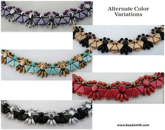 Free Download Pattern - Felie Collar by Annick Puca