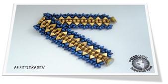 Free Download Pattern - Bracelet Kheopatra - Designed by Akke Jonkhof