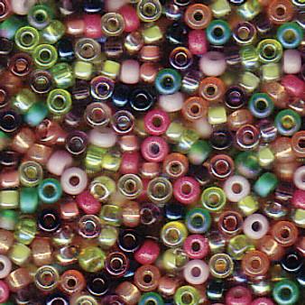 Miyuki Seed Beads - Round - SIZE #11 - 20gms - Colour Mix 21 lavender garden
