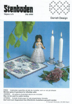 Stenboden's Pattern Book 200304 Doll, Candlesticks & Tablecloth (English Instructions)