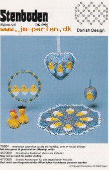 Stenboden's Pattern Book 198706 Easter (English Instructions)