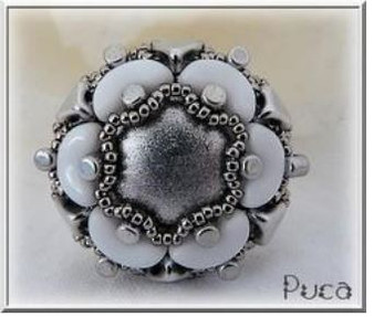 Free Download Pattern - Joana Ring - designed by Anick Puca