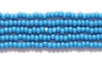 33220 - 13/0 - Czech - Opaque Slate Blue - Hank (approx 3000 beads) Glass  Charlotte Seed Bead