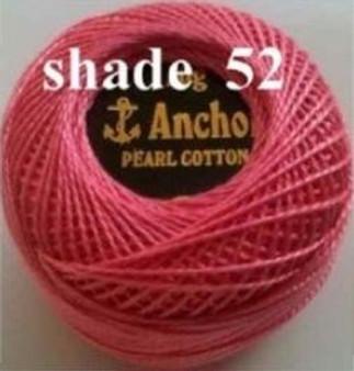 Anchor Pearl Crochet Cotton Size 8 - 10gm Ball - (52)