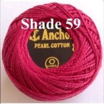 Anchor Pearl Crochet Cotton Size 8 - 10gm Ball - (59)