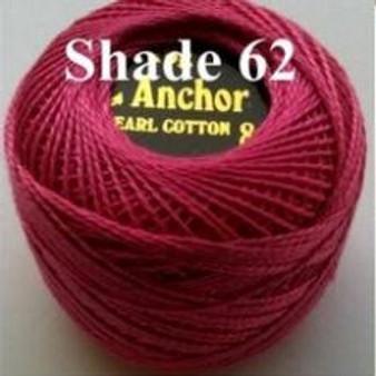 Anchor Pearl Crochet Cotton Size 8 - 10gm Ball - (62)