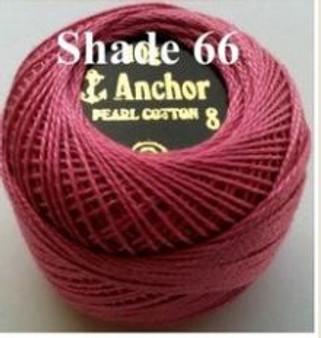 Anchor Pearl Crochet Cotton Size 8 - 10gm Ball - (66)