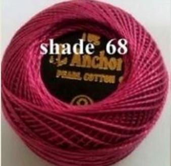Anchor Pearl Crochet Cotton Size 8 - 10gm Ball - (68)