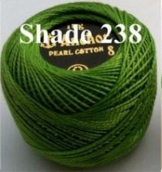 Anchor Pearl Crochet Cotton Size 8 - 10gm Ball - (238)