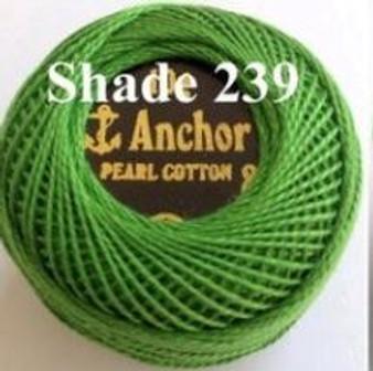 Anchor Pearl Crochet Cotton Size 8 - 10gm Ball - (239)