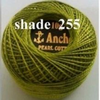 Anchor Pearl Crochet Cotton Size 8 - 10gm Ball - (255)