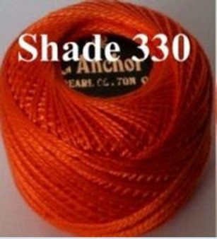 Anchor Pearl Crochet Cotton Size 8 - 10gm Ball - (330)