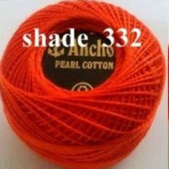 Anchor Pearl Crochet Cotton Size 8 - 10gm Ball - (332)