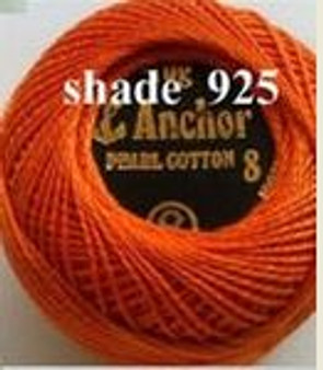 Anchor Pearl Crochet Cotton Size 8 - 10gm Ball - (925)