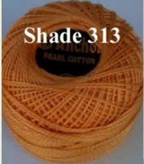 Anchor Pearl Crochet Cotton Size 8 - 10gm Ball - (313)