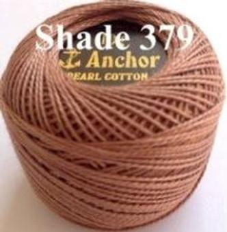 Anchor Pearl Crochet Cotton Size 8 - 10gm Ball - (379)