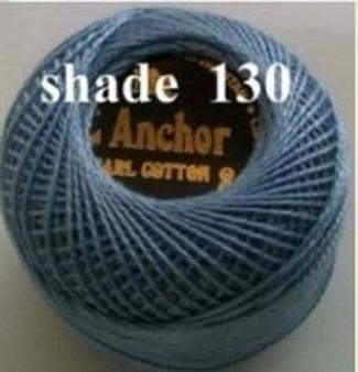 Anchor Pearl Crochet Cotton Size 8 - 10gm Ball - (130)