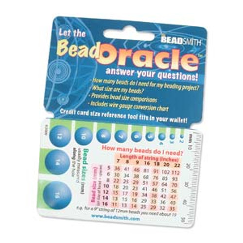 Bead Oracle - Wallet Bead Reference Card