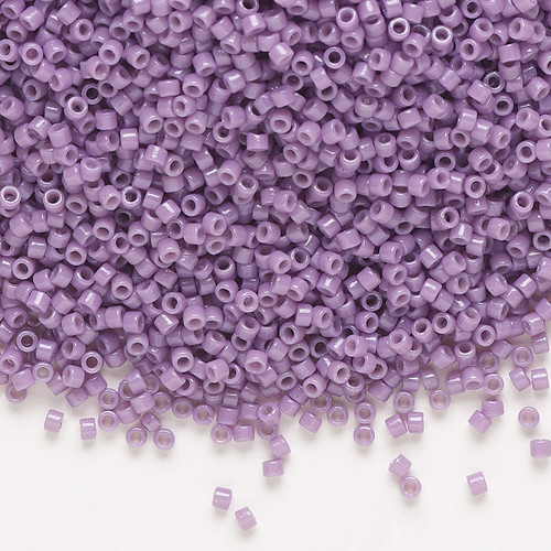 DB2139 - 11/0 - Miyuki Delica - Duracoat® Opaque Dark Orchid - 7.5gms - Cylinder Seed Beads