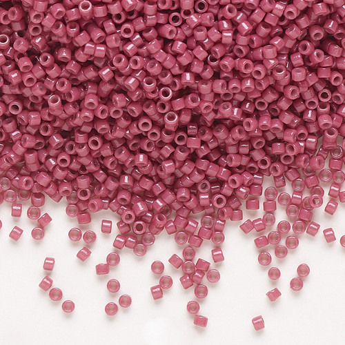 DB2118 - 11/0 - Miyuki Delica - Duracoat® Opaque Pansy - 7.5gms - Cylinder Seed Beads