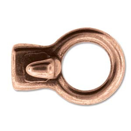 1 x Clasp Hook Copper 33.5mm x 23mm x 4mm (11 x 5.3mm Inner Diammeter)