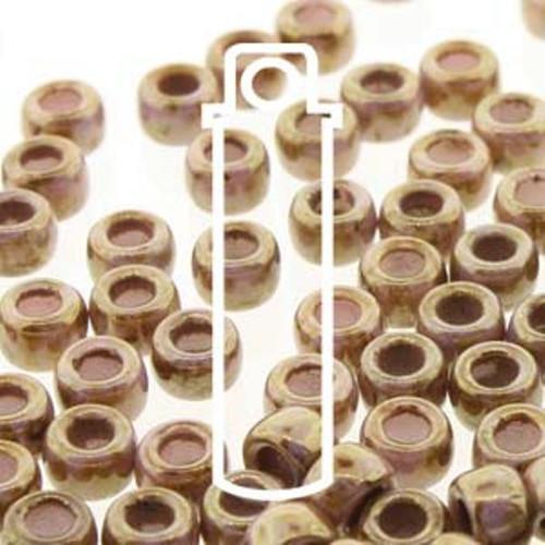 1 x Vial of Czech Matubo 6/0 Seed Bead - Chalk Senegal Brown