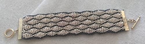 Basic Bead Knitted Weave Bracelet Kit