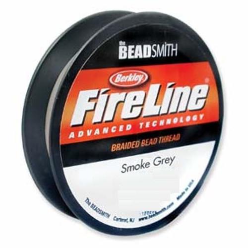 Thread, Berkley® FireLine®, 50-yards Smoke 4lb (0.13mm)