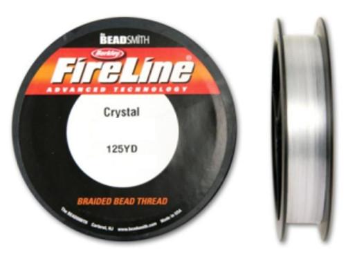 Thread, Berkley® FireLine®, 125-yards Crystal 6lb (0.15mm)