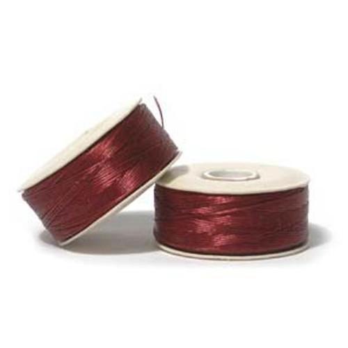 Thread, Nymo®, nylon. 1 x Bobbin Size D - 64yds Red
