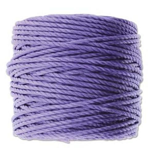 SLon-Tex-400-Heavy-Macrame-Cord-35yd-spool-diameter-of-0-9mm-3ply Violet