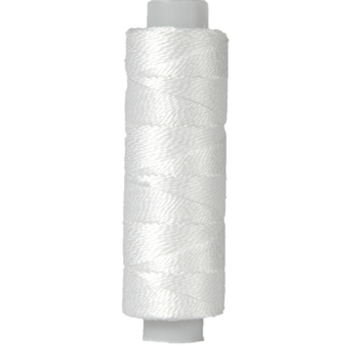 10gm Spool Pearl Crochet Cotton - Size 8 White