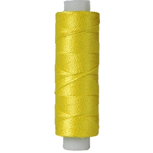 10gm Spool Pearl Crochet Cotton - Size 8 lemon