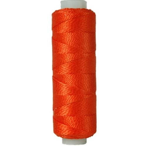 10gm Spool Pearl Crochet Cotton - Size 8 Orange