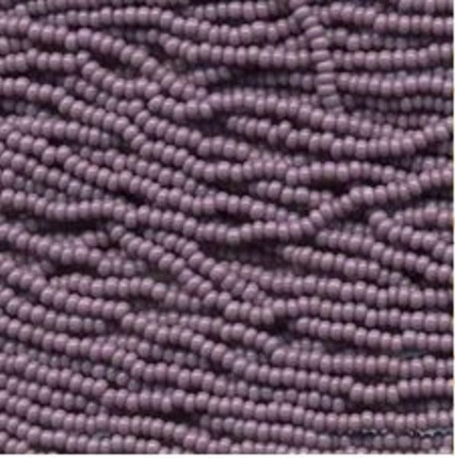 SB8-23020 Light Purple Size #8 Half Hank Seed Beads