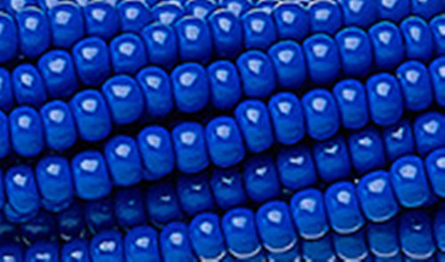 SB6-33050 - Opaque Blue Size 6 Half Hank Seed Beads