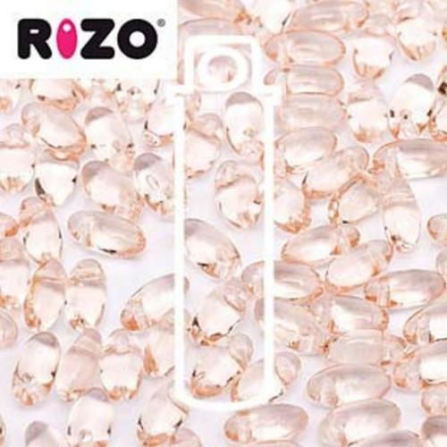 RZ256-70120 Preciosa Czech Rizo Beads 2.5mm x 6mm - 22gms - Rosaline